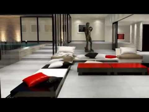 alliance carrelage pi ces vivre youtube. Black Bedroom Furniture Sets. Home Design Ideas