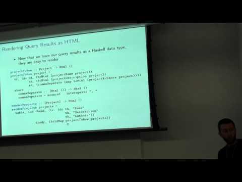 ZuriHac 2015 - Beginning Web Programming in Haskell