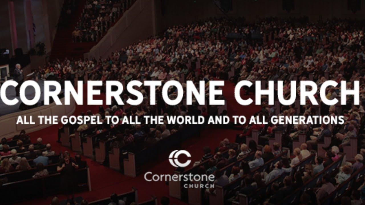 Cornerstone Church LIVE 6:30pm on Sunday November 22th 2020