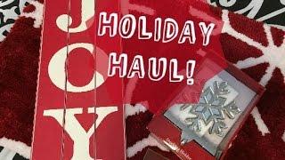 HOLIDAY HAUL! Thumbnail