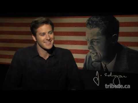 Armie Hammer Interview - J. Edgar