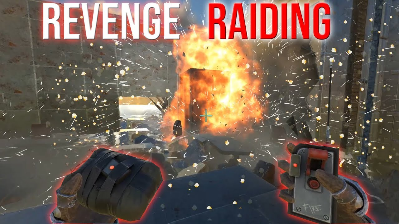 REVENGE RAIDING - ARK SMALL TRIBES PVP #51