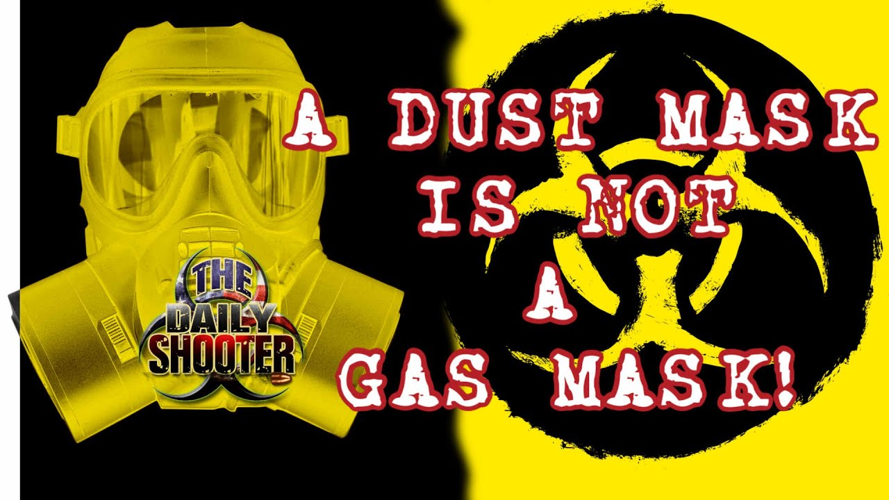 Lets Talk Gas Masks.  Be Aware of What You're Buying!