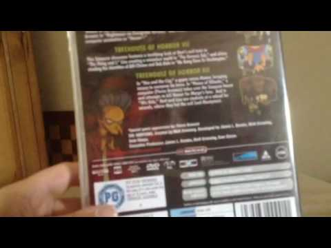 The Simpsons Treehouse of Horror DVD Unboxing