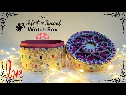 Heart Box DIY Handmade Gift For Boyfriend, Valentines Day Surprise Gifts, Awesome DIY Cardboard Gift