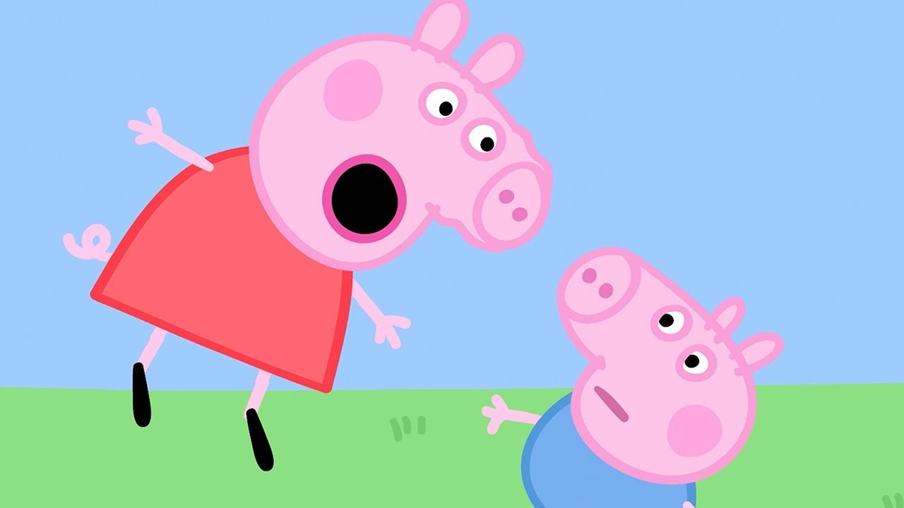 Peppa pig italiano george e singhiozzi cartoni for Peppa in italiano