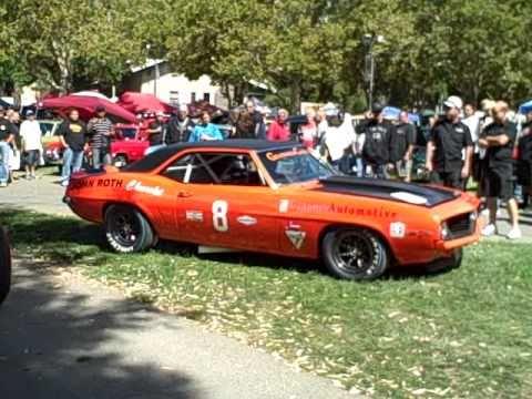 Brett Radanoff's 1969 vintage Camaro SCCA Trans Am race car  AVI