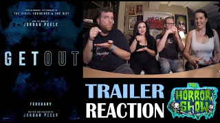 get out 2017 trailer reaction re upload the horror show