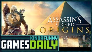 Give Assassin's Creed Origins a Second Chance - Kinda Funny Games Daily 11.02.17