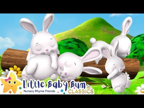 Sleeping Bunnies Song - Nursery Rhymes and Baby Songs | Songs For Kids | Little Baby Bum