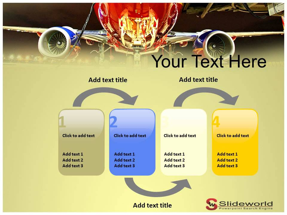 southwest airlines powerpoint presentation templates - Southwest Airlines Ppt Template Free Download