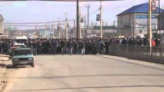 Митинг в хасавюрте