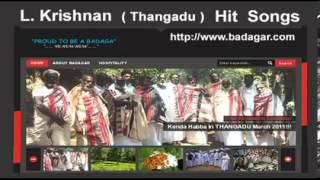 Old Badaga Songs Thangadu L Krishnan 22 www ibadaga com