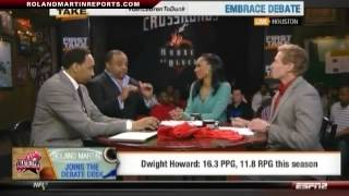 First Take: Roland Martin Joins Stephen A. Smith, Skip Bayless & Cari Champion To Embrace Debate