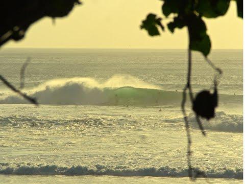 Epic Surf Padang Padang and Uluwatu Bali - Swell of the season 27.06.15