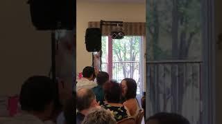 Reception entrance-wedding party