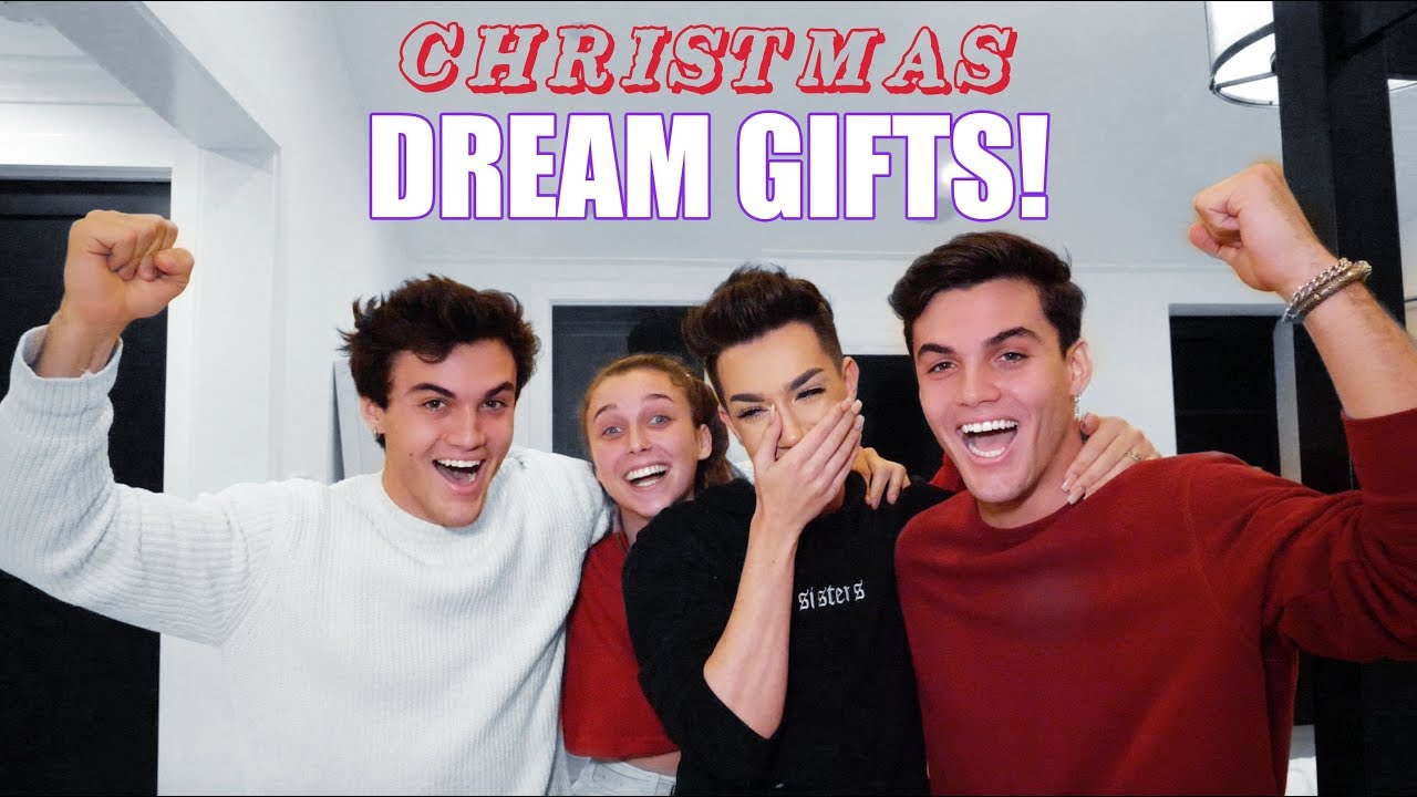 My Christmas Dream 2019.Best Friends Buy Each Other Dream Gifts Ft James Charles Emma Chamberlain