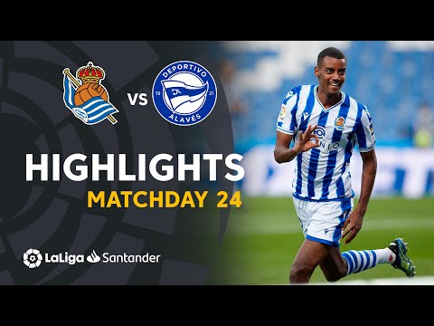 Real Sociedad Alaves Goals And Highlights