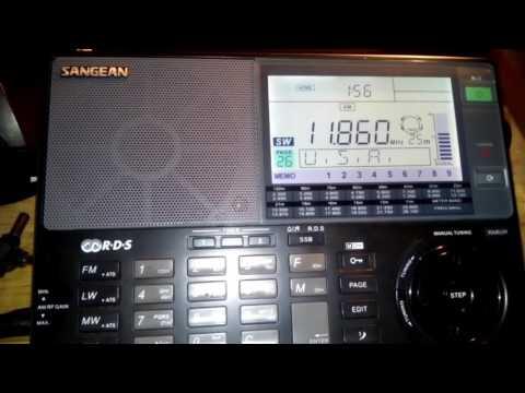 Radio sanaa  de Yemen  con sangean  ats  909x