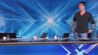 Simon Has To Tell Judges To Leave Because They Can't Just Stop LAUGHING