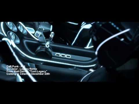 Tron:Legacy Preview Daft Punk  Fall Remix HD