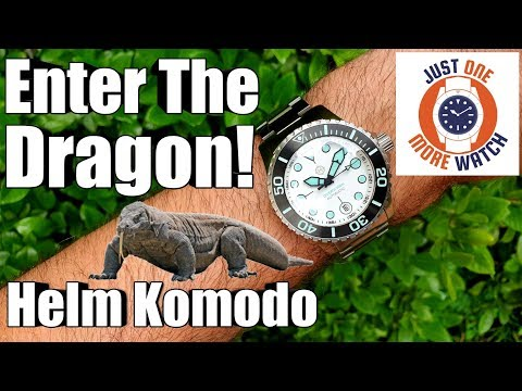 Enter The Dragon! Helm Komodo
