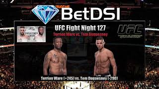 Terrion Ware vs Tom Duquesnoy - UFC Fight Night 127 - Preview - Picks - Odds