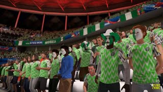Nigeria Vs Islandia | Fifa World Cup Russia 2018 | Match Ceremony GamePlay FIFA 18