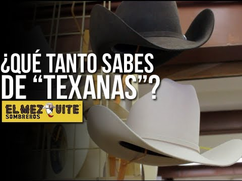 Qué tanto sabes de  Texanas   - YouTube 9be2ac2bc169