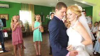 Первый танец молодых. Саша и Юля.