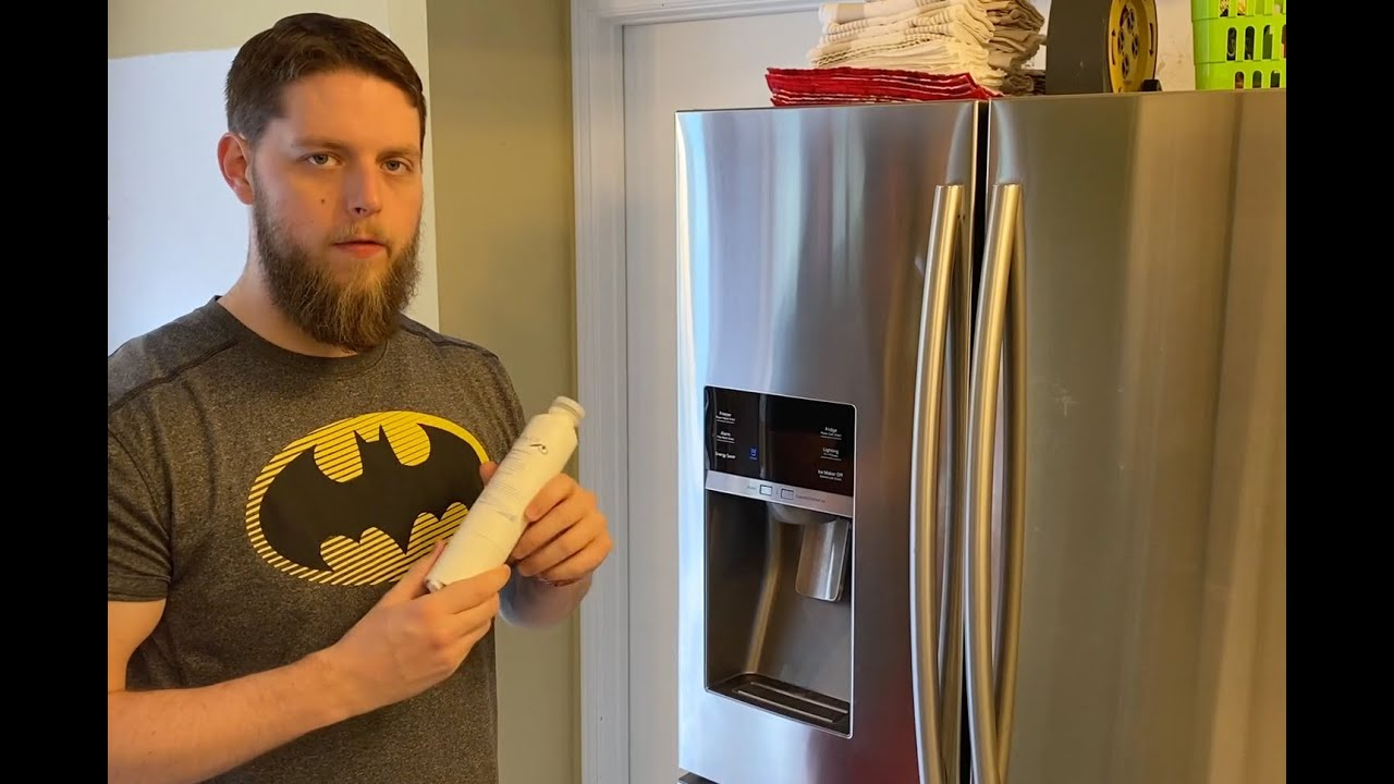 How To: Replace The Water Filter On Your Samsung French Door Refrigerator