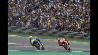 Marc Márquez vs Valentino Rossi, Assen 2015 | Rossi is forced to cut the corner in dramatic style