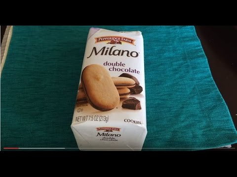 Pepperidge Farm DOUBLE CHOCOLATE MILANO Review