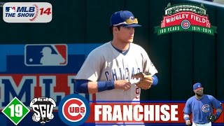 MLB 14: The Show (PS4) Chicago Cubs Franchise - EP19 (vs 1st Place Reds)