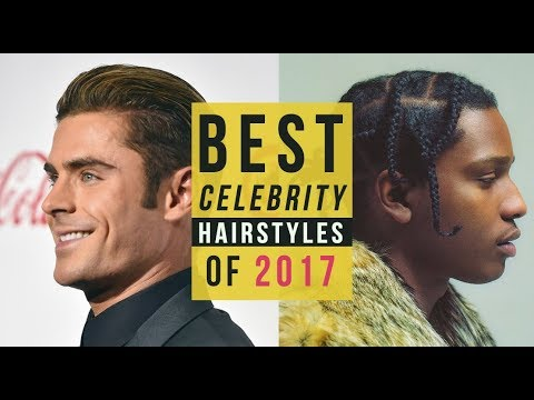The Top 13 Men's Celebrity Hairstyles of 2017