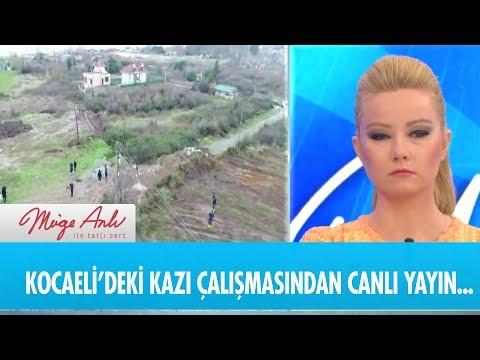 Kocaeli'deki kazı çalışmalarından canlı yayın  - Müge Anlı ile Tatlı Sert 7  Ocak  2019