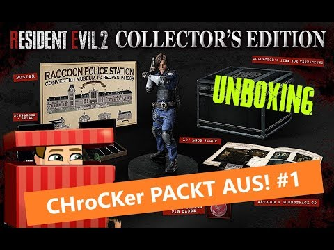 [Unboxing] RESIDENT EVIL 2 - Collector's Edition | CHroCKER packt aus! #1