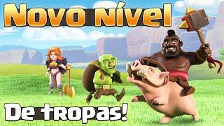 NOVO NÍVEL DE TROPAS E MAIS!!! ATUALIZAÇÃO DO CLASH OF CLANS