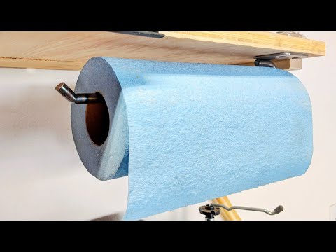 DIY Paper Towel Holder | Scrap Metal Project