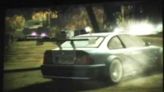 Need For Speed Most Wanted -BMW M3 GTR MOVIE!-