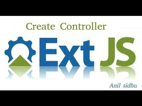 Sencha Ext Js Tutorial #6 Create Controller