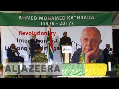 South Africa: Anti-apartheid icon Ahmed Kathrada laid to rest