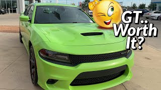 Is the Charger/Challenger GT worth it vs the SXT?