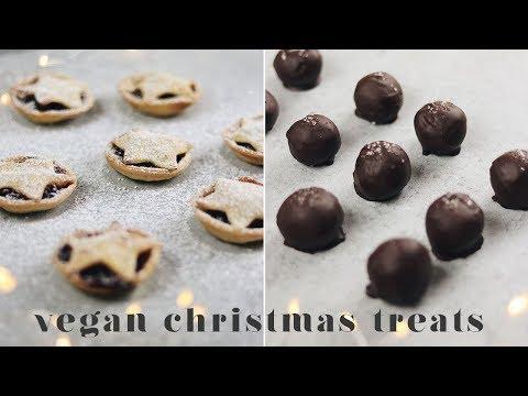 TOTALLY DELICIOUS BUT EASY VEGAN CHRISTMAS TREATS