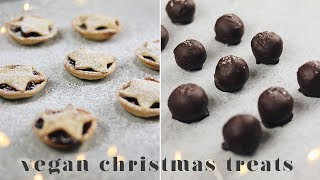 TOTALLY DELICIOUS BUT EASY VEGAN CHRISTMAS TREATS