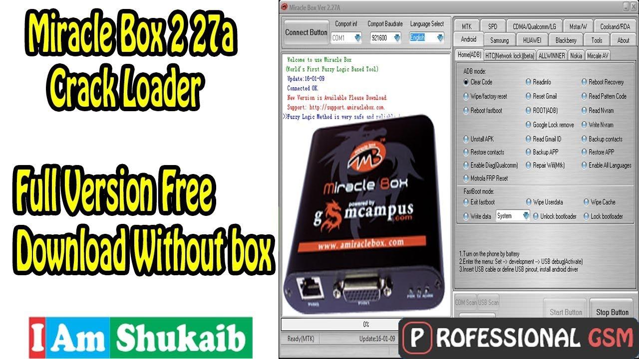 miracle box ver 2.27a