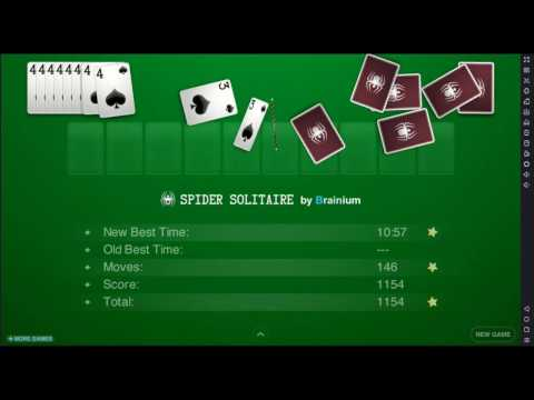 Spider Solitaire By Brainium (Free Game For Android)