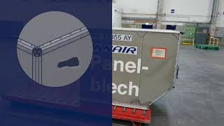 Container inspection in 60 seconds - German