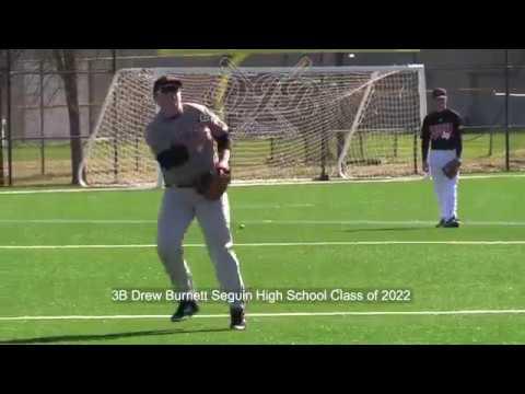 3B Drew Burnett Seguin High School Class of 2022
