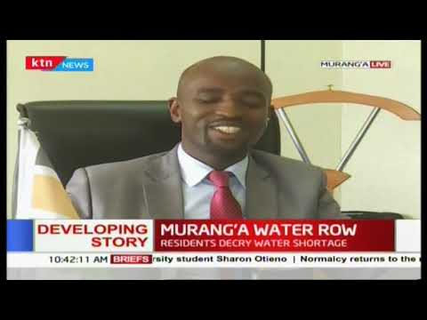 Do not pay private entities- Water CEC on the Murang'a water row